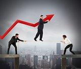 Teamwork help growth