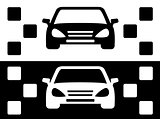 taxi simple icon
