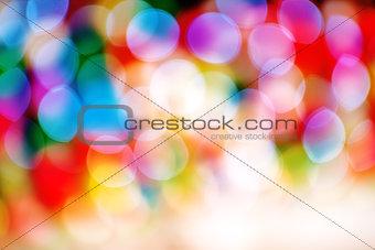 Beautiful Christmas Light Bokeh