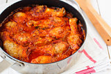 Tomato Chicken and Mushroom Stew