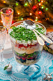 Christmas Layered Salad