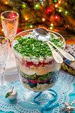 Christmas Layered Salad