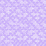 Seamless Texture with Purple Clouds