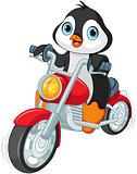 Penguin Motorcyclist