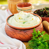 Herbed Mashed Potato