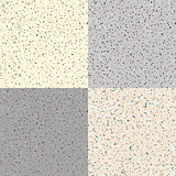 Set Seamless Flecked Stone Texture
