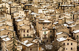 Old Scanno village