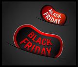 Black Friday Super Sale promotional Stick banners