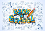 Back to School Background to use for advertiments,