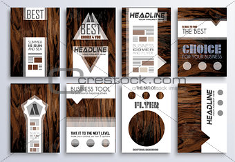 Brochure template, Flyer Design and Depliant Cover