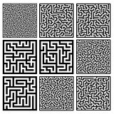 medium mazes set