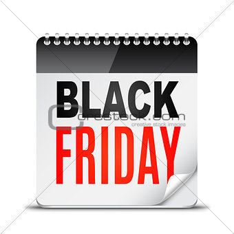 Black Friday Day Calendar