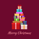 Merry Christmas with Gifts