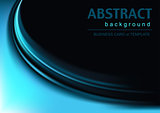Abstract Background with Blue Effect
