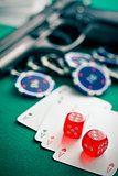 dices and aces