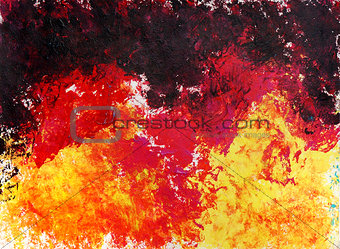 Abstract art painting. Raster background