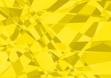 Yellow Crystalline Background