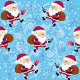 Santa Claus, seamless