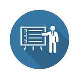 Problem Statements Icon. Flat Design.