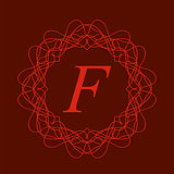 Monogram F