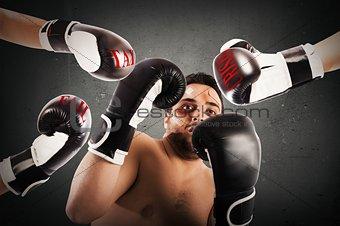 Failed boxer as businessman