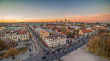 Representative picture of Vilnius, Lithuania in autumn sunset