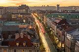 Vilnius, Lithuania: Representative Gediminas Avenue