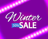 Advertise with winter discounts