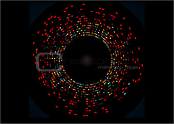 An example of DNA fingerprinting 10 individuals are tested for 6 loci scientifically accurate