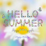 """Hello summer"""