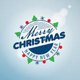 vector logo Christmas