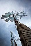 Vintage wind turbine