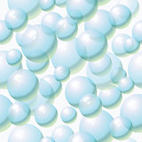 seamless background with water bubbles