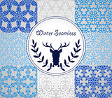 Seamless Winter Patterns