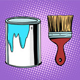 paint brush work painting design