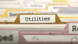 Utilities on Business Folder in Catalog.