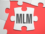 MLM - Puzzle on the Place of Missing Pieces.