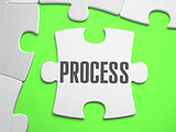 Process - Jigsaw Puzzle with Missing Pieces.