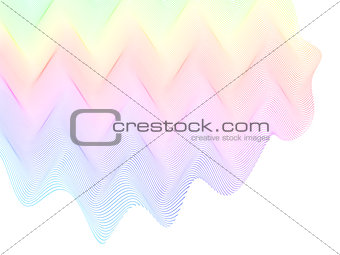 abstract stylized lines, vector