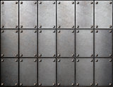 tiled metal background