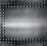 steel armour metallic background