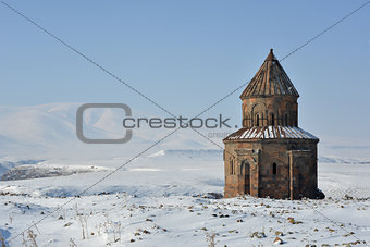 Ani - church of St Gregory of the Abughamrents