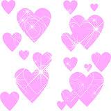 Creative Valentine's Day texture