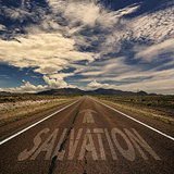 Road With the Word salvation