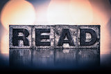Read Concept Vintage Letterpress Type