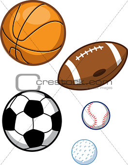 Assorted Sports Balls
