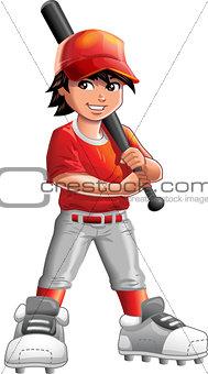 Boy Baseball Player