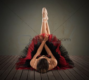 Pose classical  dancer