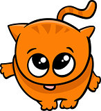 cute little cat cartoon