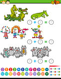 addition task for preschool kids